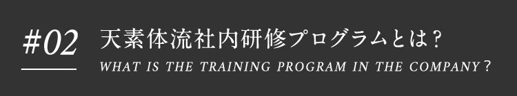#02 天素体流社内研修プログラム